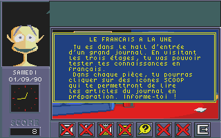 Screenshot of Adi CM1 - Français