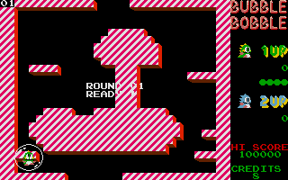 Screenshot of Bubble Bobble - Extended Screens
