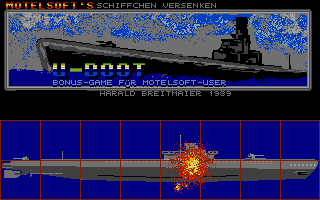 Screenshot of U-Boot