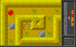 Screenshot of World Of Confusion
