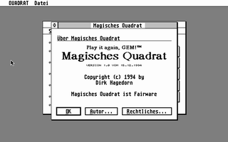 Thumbnail of other screenshot of Magisches Quadral