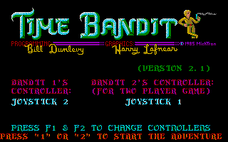 Screenshot of Time Bandit