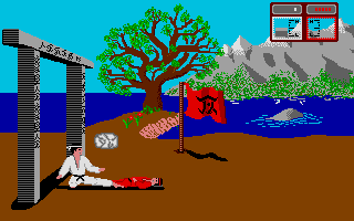 Screenshot of Fist of Fury