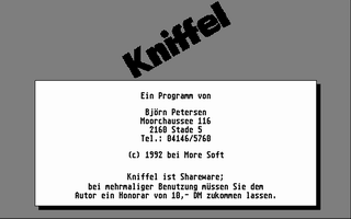 Thumbnail of other screenshot of Kniffel