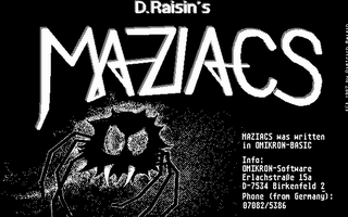 Thumbnail of other screenshot of Maziacs