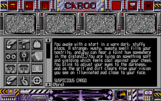 Screenshot of Suspicious Cargo