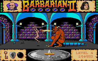 Thumbnail of other screenshot of Barbarian II - The Dungeon of Drax