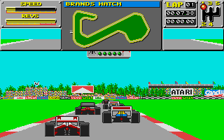 Screenshot of Atari Grand Prix
