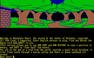 Screenshot of Jewels Of Darkness Trilogy