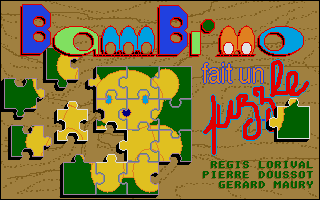 Screenshot of Bambino Fait Un Puzzle