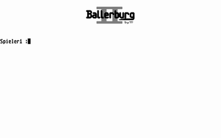 Large screenshot of Ballerburg II