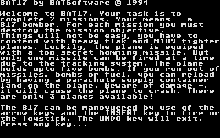 Screenshot of Bat17