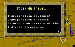 Screenshot of Bases de l'Orthographe,  Les - La Dictee CE1-CE2
