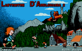Thumbnail of other screenshot of Le Labyrinthe D'Anglomania 2