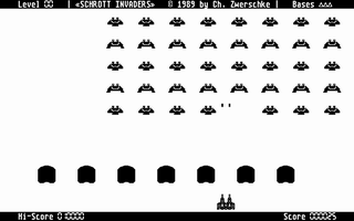 Thumbnail of other screenshot of Schrott Invaders