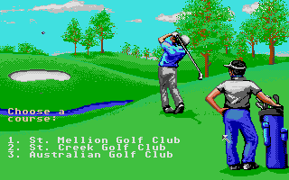 Screenshot of Jack Nicklaus - The International Course Disk