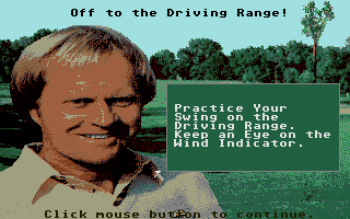 Screenshot of Jack Nicklaus - The Major Championship Courses of 1989