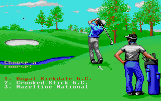 Screenshot of Jack Nicklaus - The Major Championship Courses Of 1991