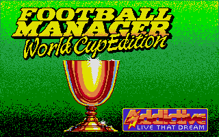 Screenshot of Football Manager World Cup Edition