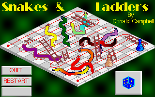 Thumbnail of other screenshot of Snakes & Ladders