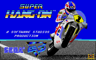 Screenshot of Super Hang-On