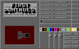 Thumbnail of other screenshot of First Dominoes