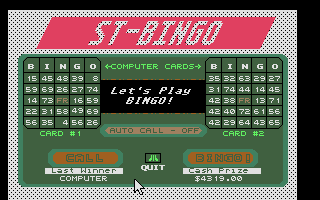 Screenshot of ST-Bingo