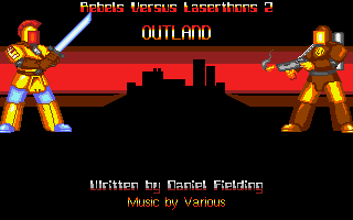 Thumbnail of other screenshot of Rebels versus Laserthons 2 - Outland