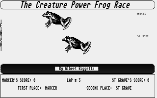 Thumbnail of other screenshot of Creature Power Frog Race