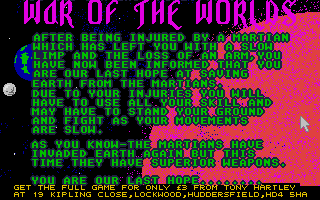 Screenshot of War of the Worlds 3 - Take over