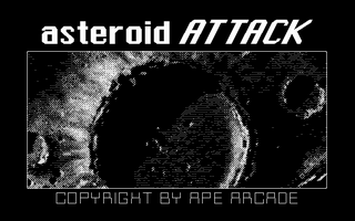 Thumbnail of other screenshot of Asteroid Attack