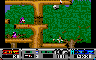 Screenshot of Bionic Commando