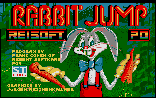 Screenshot of Rabbit Jump