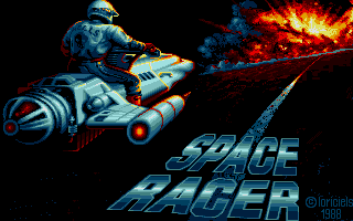 Thumbnail of other screenshot of Space Racer