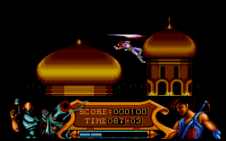Screenshot of Strider