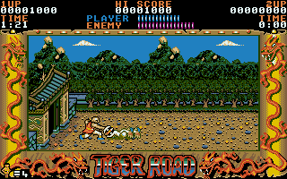 Screenshot of Tiger Road