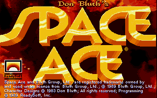 Screenshot of Space Ace