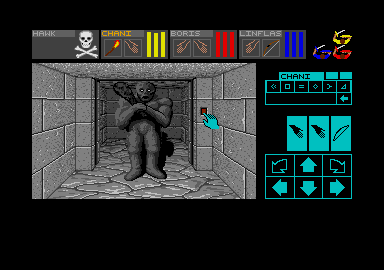 Screenshot of Dungeon Master - The Grave of King Millias
