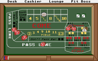 Large screenshot of Casino Craps