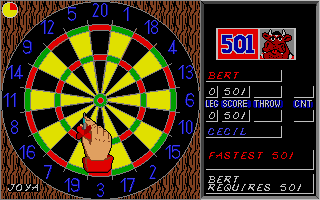 Screenshot of Bully's Sporting Darts