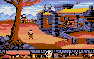 Screenshot of Gobliiins