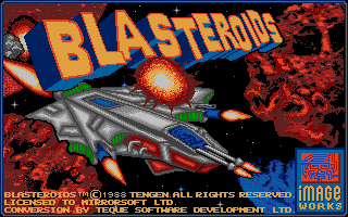 Thumbnail of other screenshot of Blasteroids