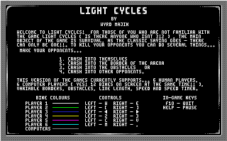 Thumbnail of other screenshot of Light Cycles