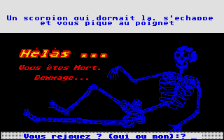 Screenshot of Le Tresor Dans La Maison Des Brigands