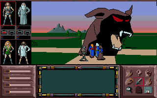 Screenshot of Drakkhen