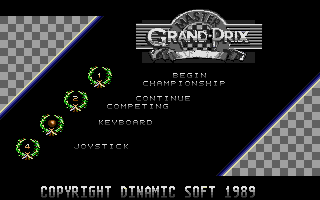 Screenshot of Aspar Grand Prix Master
