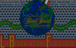 Screenshot of Trivial Pursuit - La Révolution Française