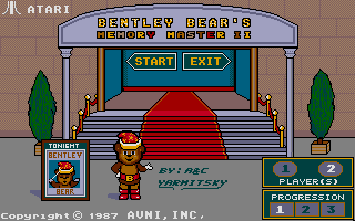 Thumbnail of other screenshot of Bentley Bear's Memory Master II