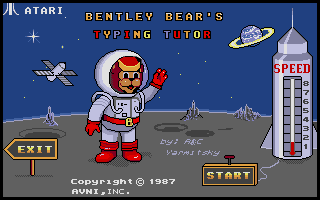 Thumbnail of other screenshot of Bentley Bear's Typing Tutor