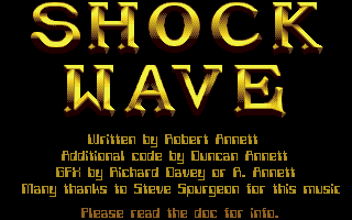 Screenshot of Shockwave